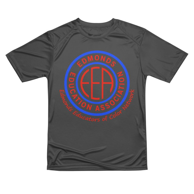 Edmonds EA Seal-Edmonds Educators of Color Network Men's Performance T-Shirt by Edmonds Education Association Swag Shop
