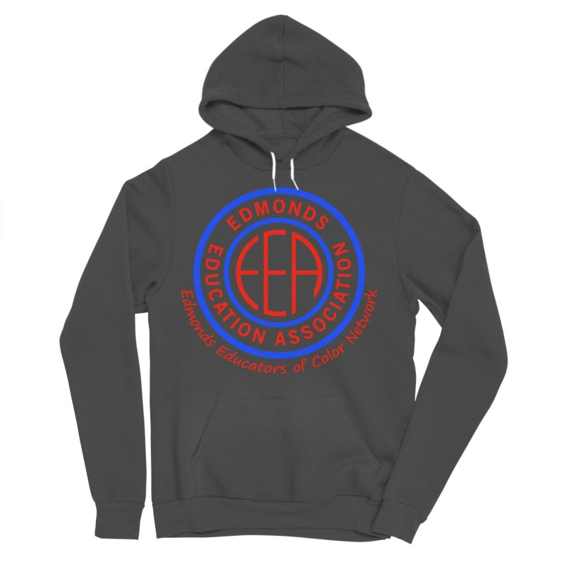 Edmonds EA Seal-Edmonds Educators of Color Network Women's Sponge Fleece Pullover Hoody by Edmonds Education Association Swag Shop