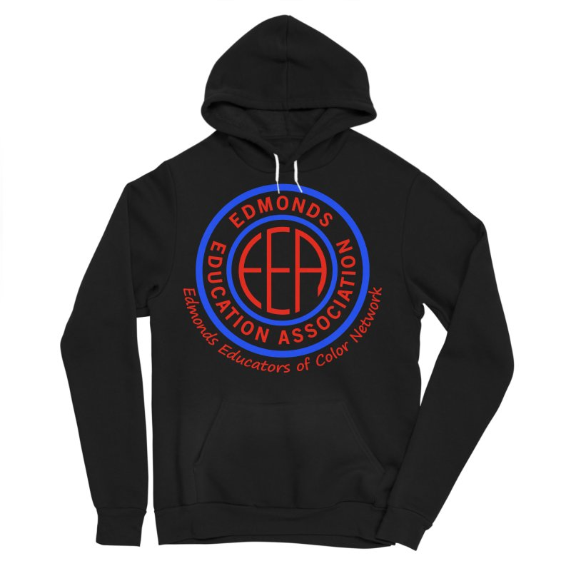 Edmonds EA Seal-Edmonds Educators of Color Network Men's Sponge Fleece Pullover Hoody by Edmonds Education Association Swag Shop