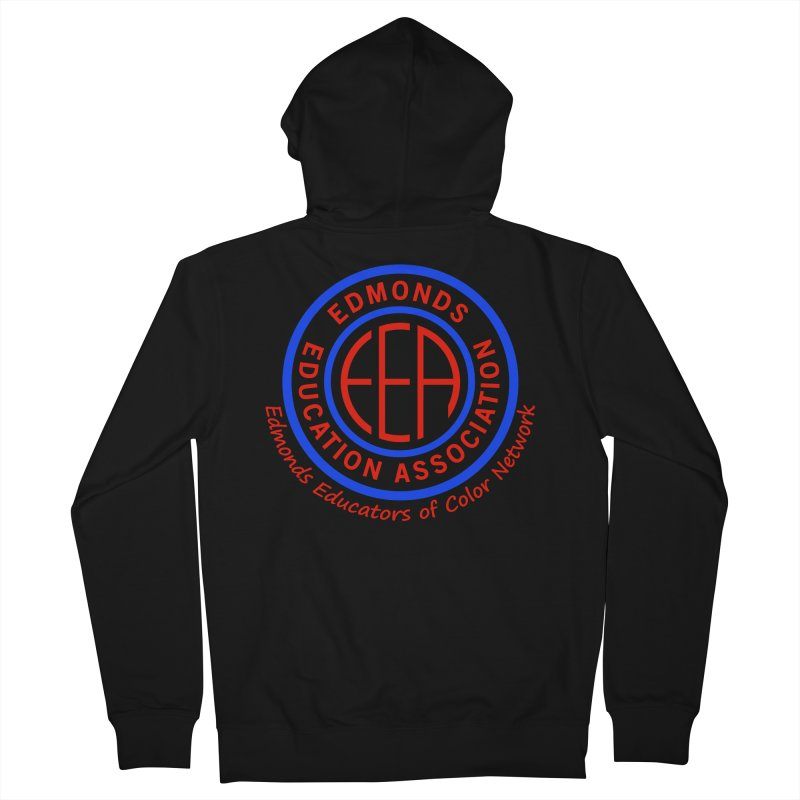 Edmonds EA Seal-Edmonds Educators of Color Network Men's Zip-Up Hoody by Edmonds Education Association Swag Shop