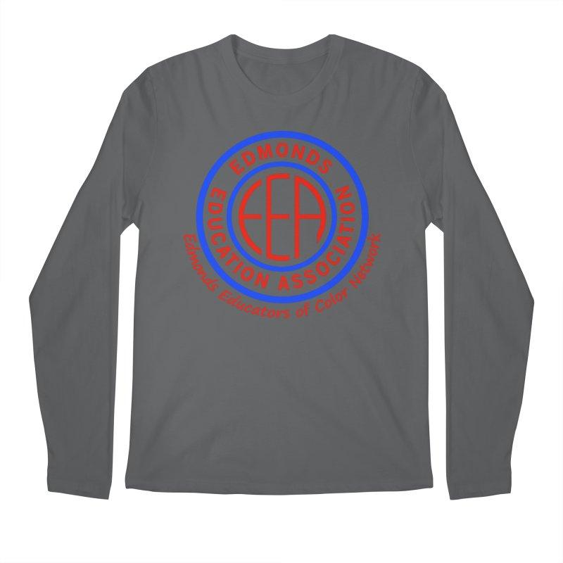 Edmonds EA Seal-Edmonds Educators of Color Network Men's Longsleeve T-Shirt by Edmonds Education Association Swag Shop