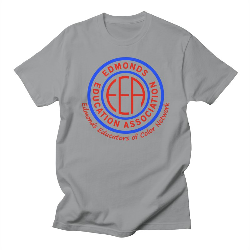 Edmonds EA Seal-Edmonds Educators of Color Network Women's Regular Unisex T-Shirt by Edmonds Education Association Swag Shop