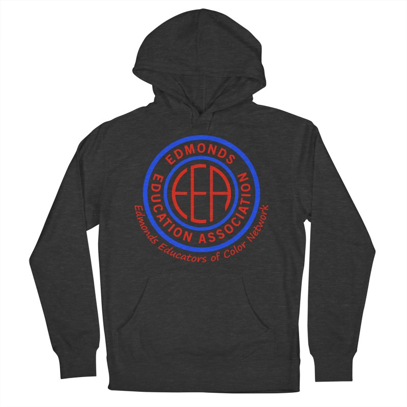 Edmonds EA Seal-Edmonds Educators of Color Network Men's French Terry Pullover Hoody by Edmonds Education Association Swag Shop