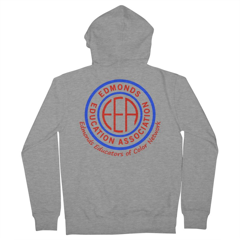 Edmonds EA Seal-Edmonds Educators of Color Network Women's French Terry Zip-Up Hoody by Edmonds Education Association Swag Shop