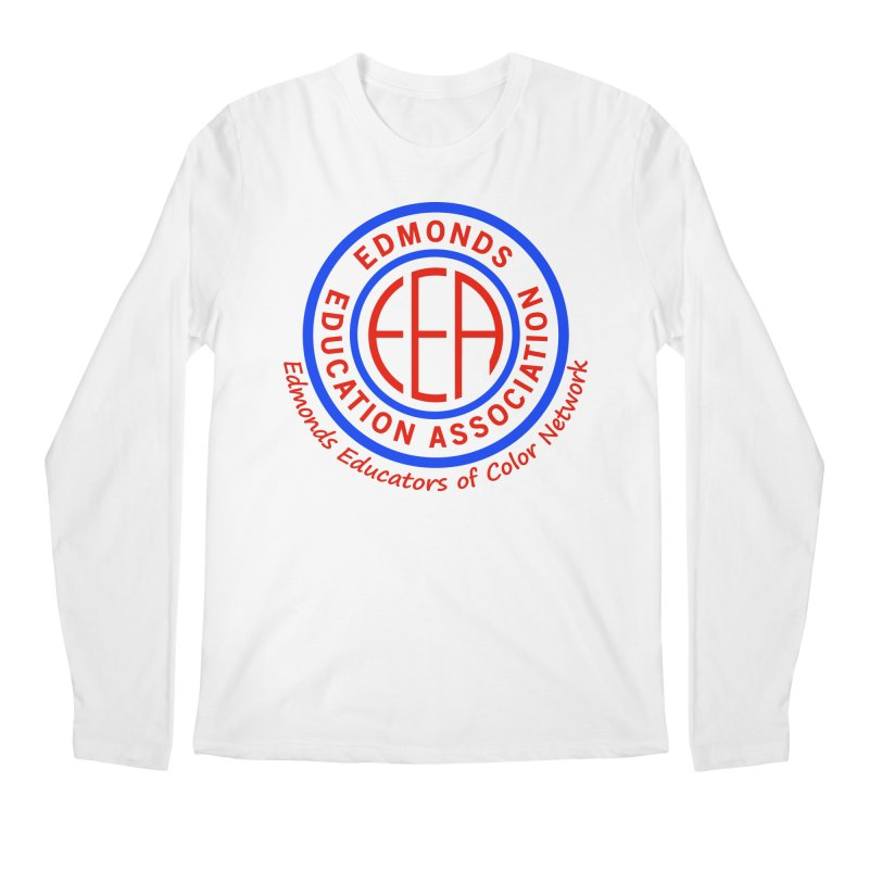 Edmonds EA Seal-Edmonds Educators of Color Network Men's Regular Longsleeve T-Shirt by Edmonds Education Association Swag Shop
