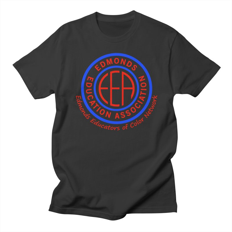 Edmonds EA Seal-Edmonds Educators of Color Network Men's Regular T-Shirt by Edmonds Education Association Swag Shop