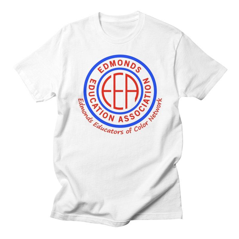 Edmonds EA Seal-Edmonds Educators of Color Network Women's Regular Unisex T-Shirt by Edmonds Education Association Swag Shop
