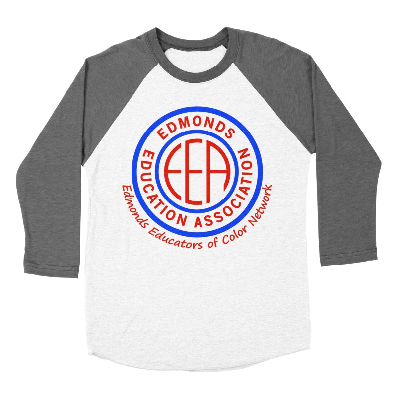Edmonds EA Seal-Edmonds Educators of Color Network Men's Baseball Triblend Longsleeve T-Shirt by Edmonds Education Association Swag Shop
