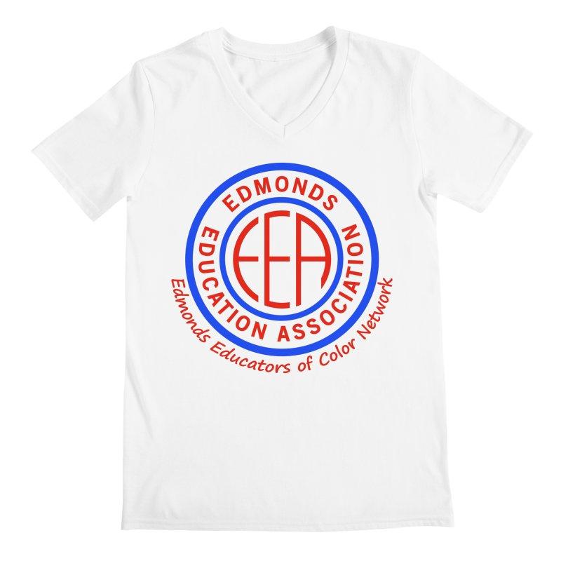 Edmonds EA Seal-Edmonds Educators of Color Network Men's V-Neck by Edmonds Education Association Swag Shop