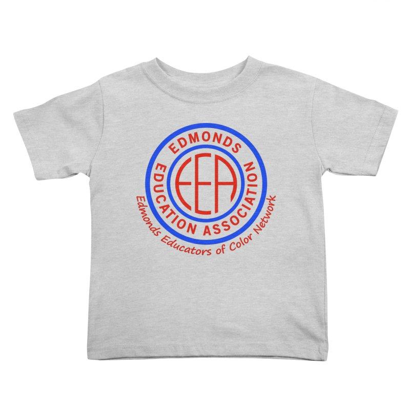 Edmonds EA Seal-Edmonds Educators of Color Network Kids Toddler T-Shirt by Edmonds Education Association Swag Shop