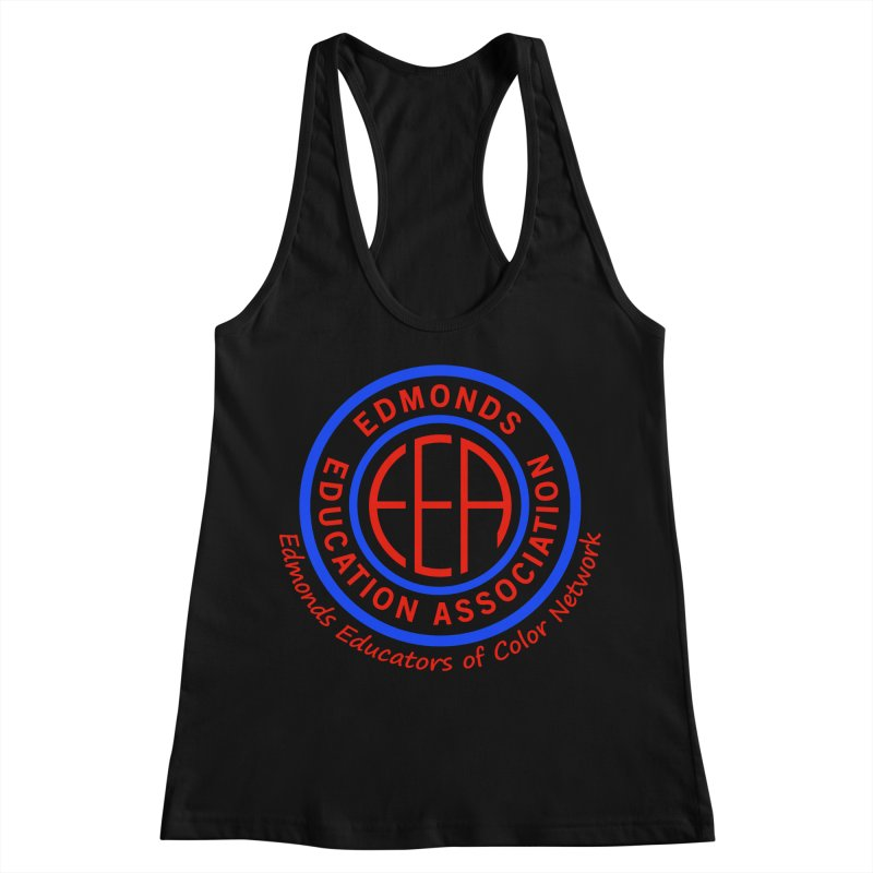 Edmonds EA Seal-Edmonds Educators of Color Network Women's Tank by Edmonds Education Association Swag Shop