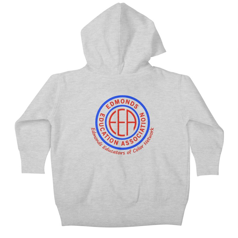 Edmonds EA Seal-Edmonds Educators of Color Network Kids Baby Zip-Up Hoody by Edmonds Education Association Swag Shop