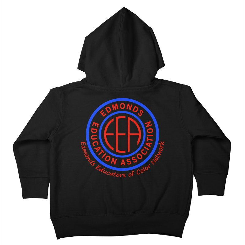 Edmonds EA Seal-Edmonds Educators of Color Network Kids Toddler Zip-Up Hoody by Edmonds Education Association Swag Shop