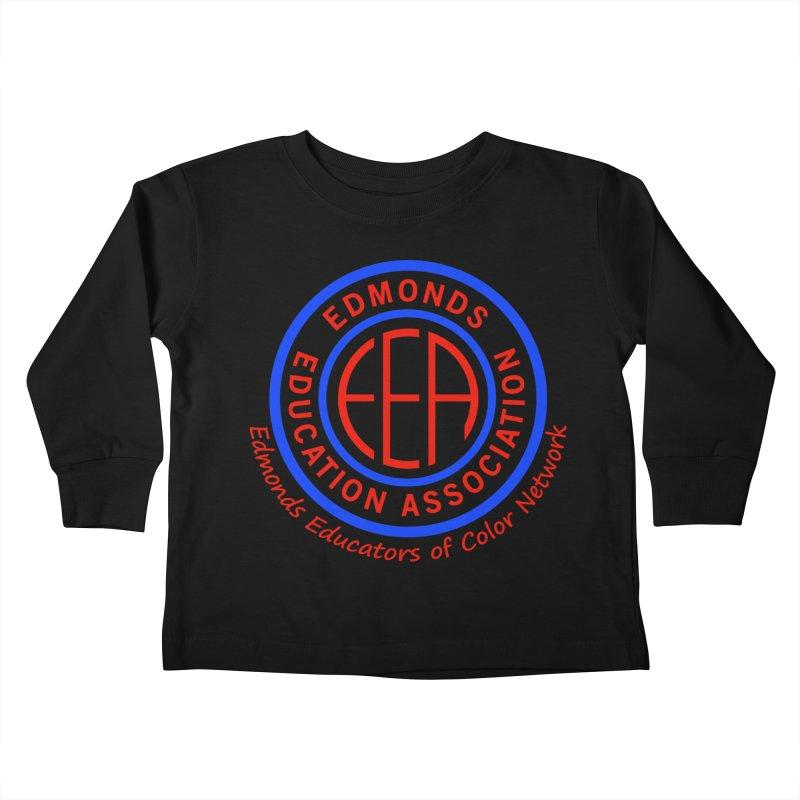 Edmonds EA Seal-Edmonds Educators of Color Network Kids Toddler Longsleeve T-Shirt by Edmonds Education Association Swag Shop