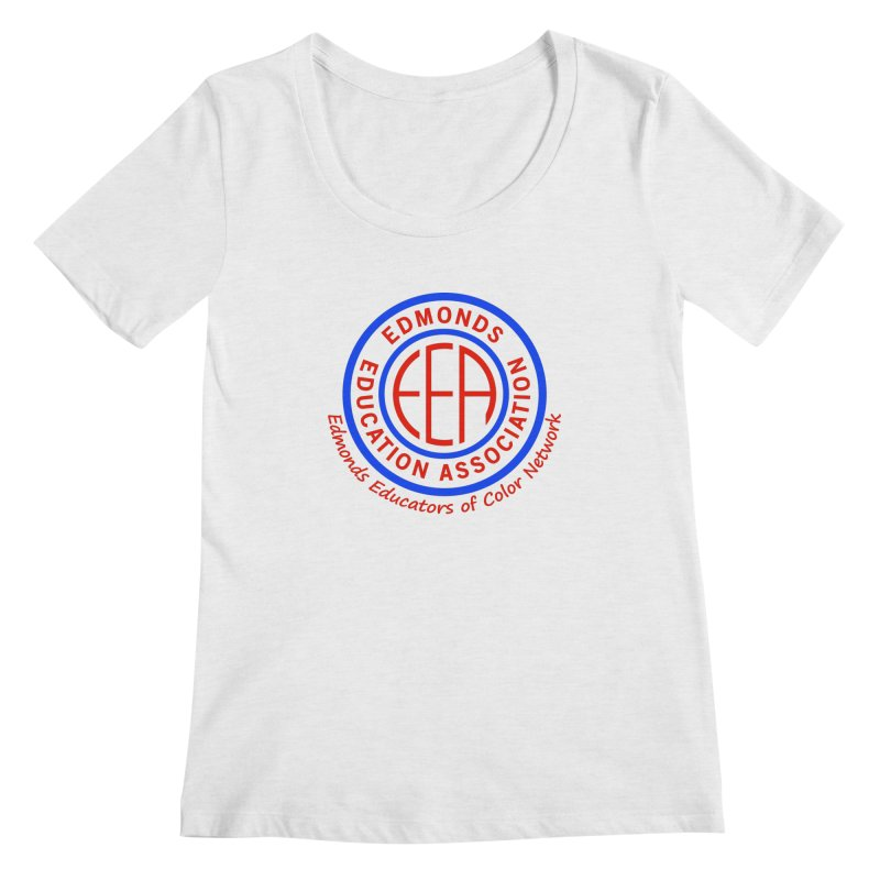 Edmonds EA Seal-Edmonds Educators of Color Network Women's Regular Scoop Neck by Edmonds Education Association Swag Shop