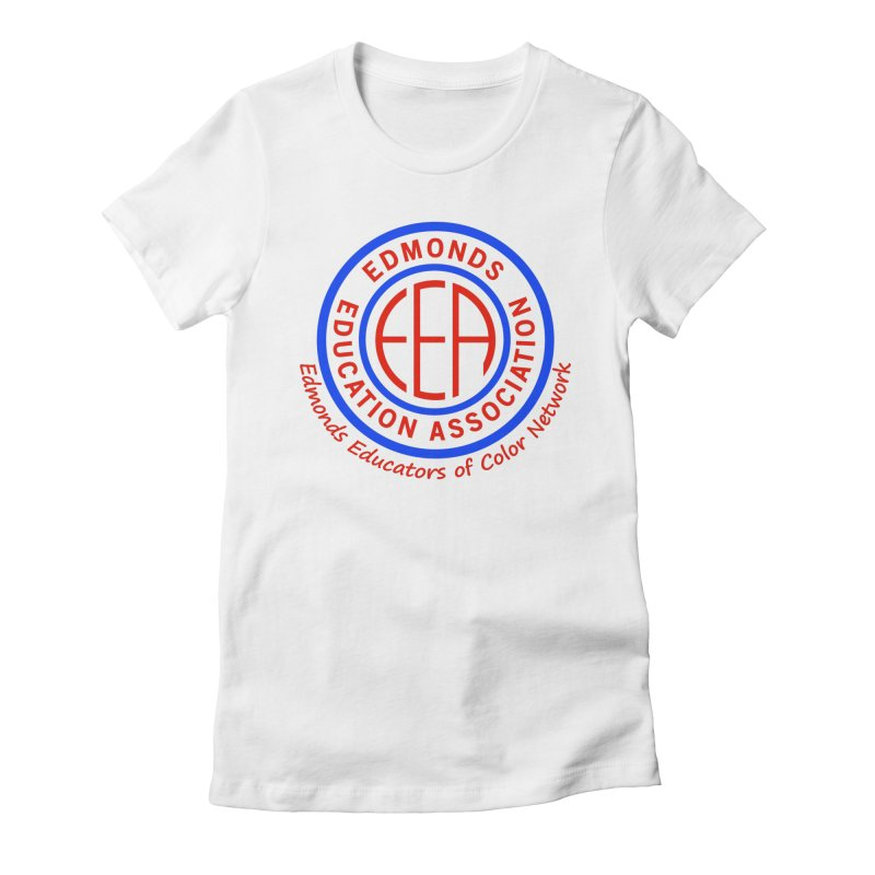 Edmonds EA Seal-Edmonds Educators of Color Network Women's Fitted T-Shirt by Edmonds Education Association Swag Shop