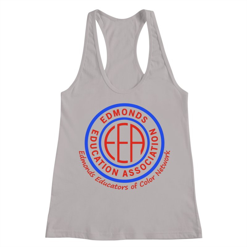 Edmonds EA Seal-Edmonds Educators of Color Network Women's Racerback Tank by Edmonds Education Association Swag Shop