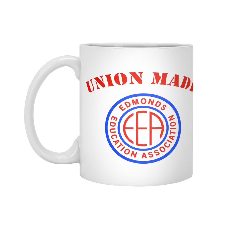 Edmonds EA Seal-Union Made Accessories Standard Mug by Edmonds Education Association Swag Shop