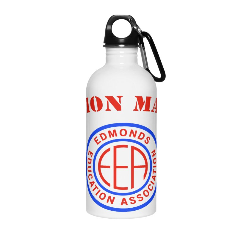 Edmonds EA Seal-Union Made Accessories Water Bottle by Edmonds Education Association Swag Shop