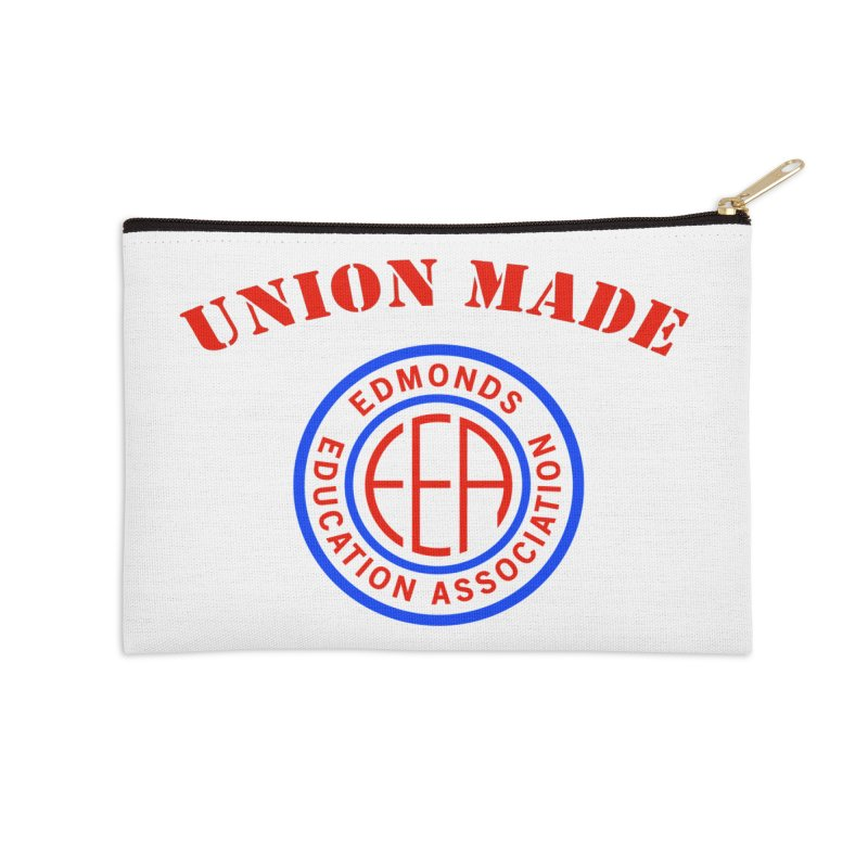 Edmonds EA Seal-Union Made Accessories Zip Pouch by Edmonds Education Association Swag Shop
