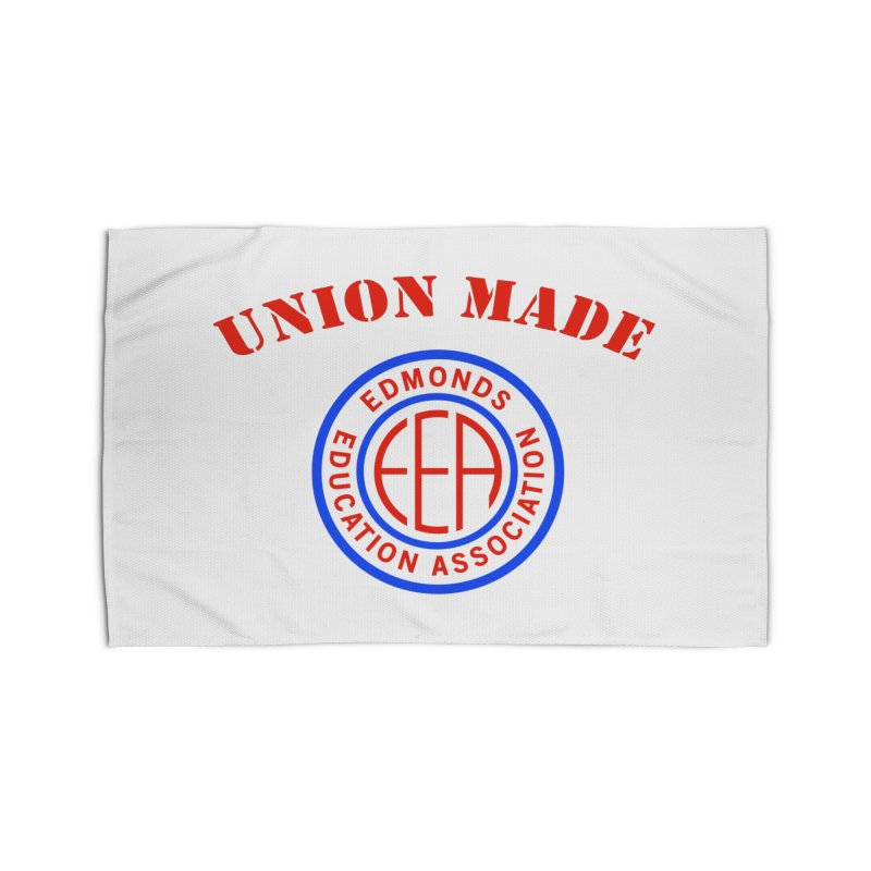 Edmonds EA Seal-Union Made Home Rug by Edmonds Education Association Swag Shop