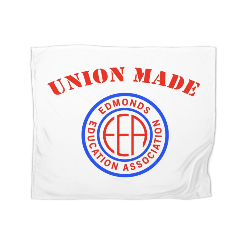Edmonds EA Seal-Union Made Home Blanket by Edmonds Education Association Swag Shop