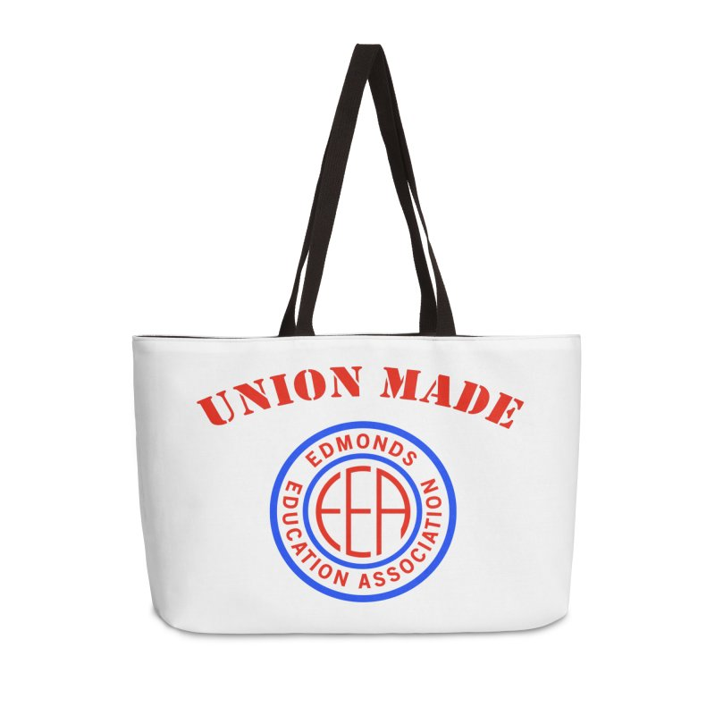Edmonds EA Seal-Union Made Accessories Weekender Bag Bag by Edmonds Education Association Swag Shop