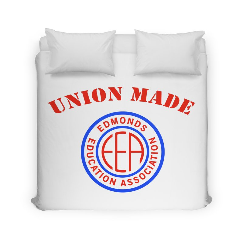 Edmonds EA Seal-Union Made Home Duvet by Edmonds Education Association Swag Shop
