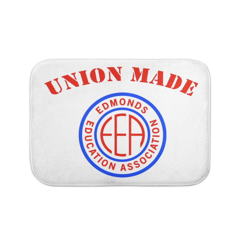 Edmonds EA Seal-Union Made Home Bath Mat by Edmonds Education Association Swag Shop