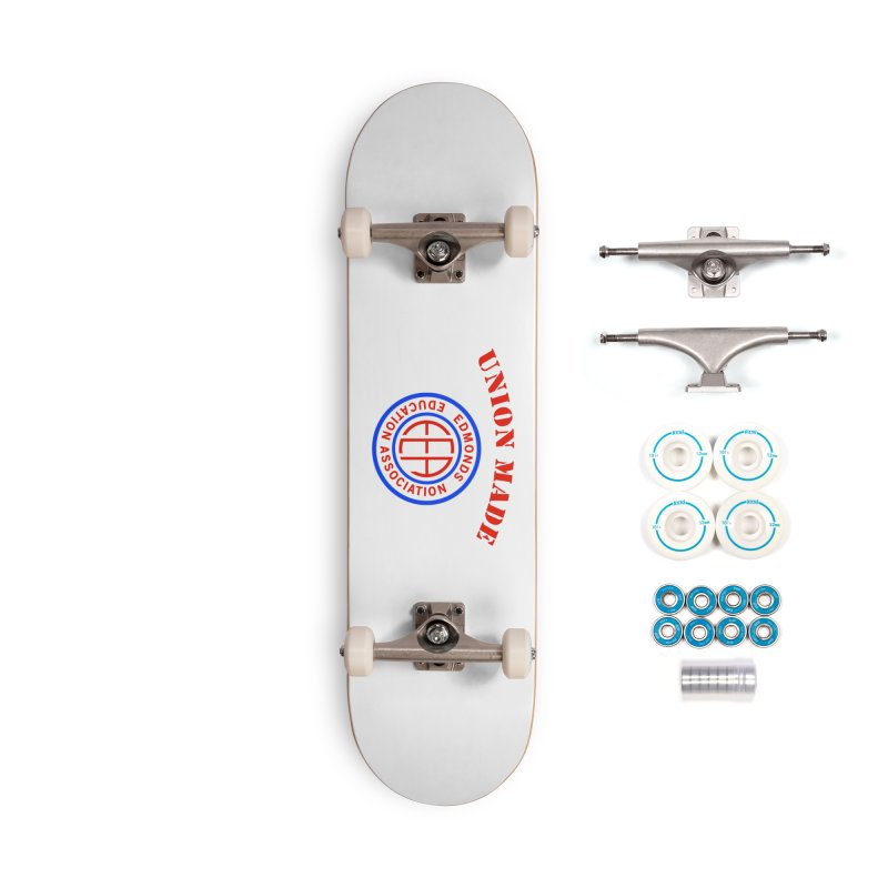 Edmonds EA Seal-Union Made Accessories Complete - Basic Skateboard by Edmonds Education Association Swag Shop