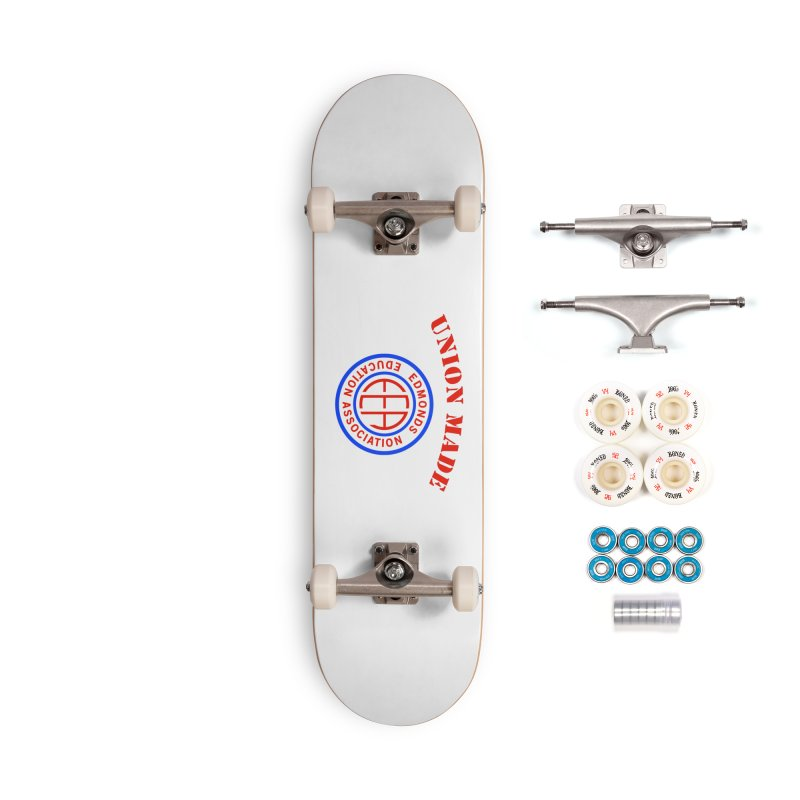 Edmonds EA Seal-Union Made Accessories Complete - Premium Skateboard by Edmonds Education Association Swag Shop
