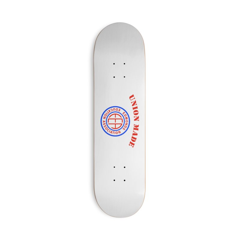 Edmonds EA Seal-Union Made Accessories Deck Only Skateboard by Edmonds Education Association Swag Shop