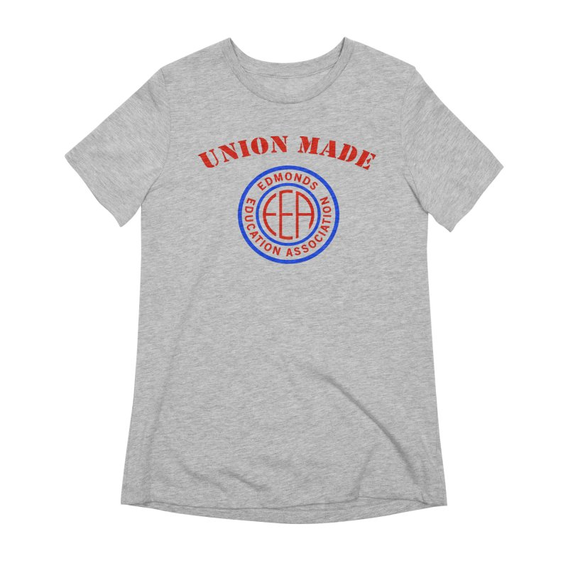 Edmonds EA Seal-Union Made Women's Extra Soft T-Shirt by Edmonds Education Association Swag Shop