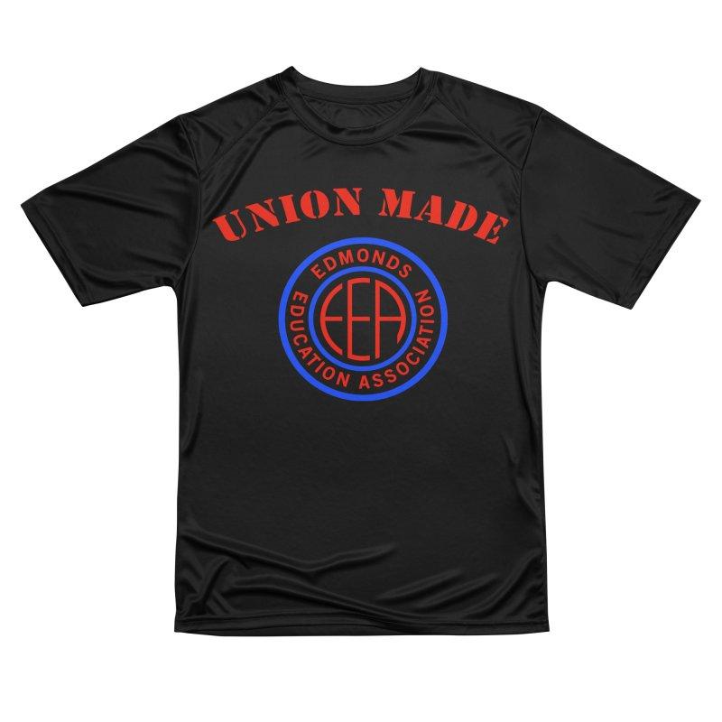 Edmonds EA Seal-Union Made Men's T-Shirt by Edmonds Education Association Swag Shop
