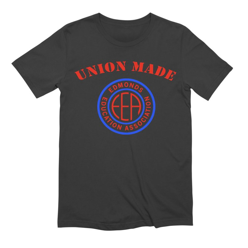 Edmonds EA Seal-Union Made Men's Extra Soft T-Shirt by Edmonds Education Association Swag Shop