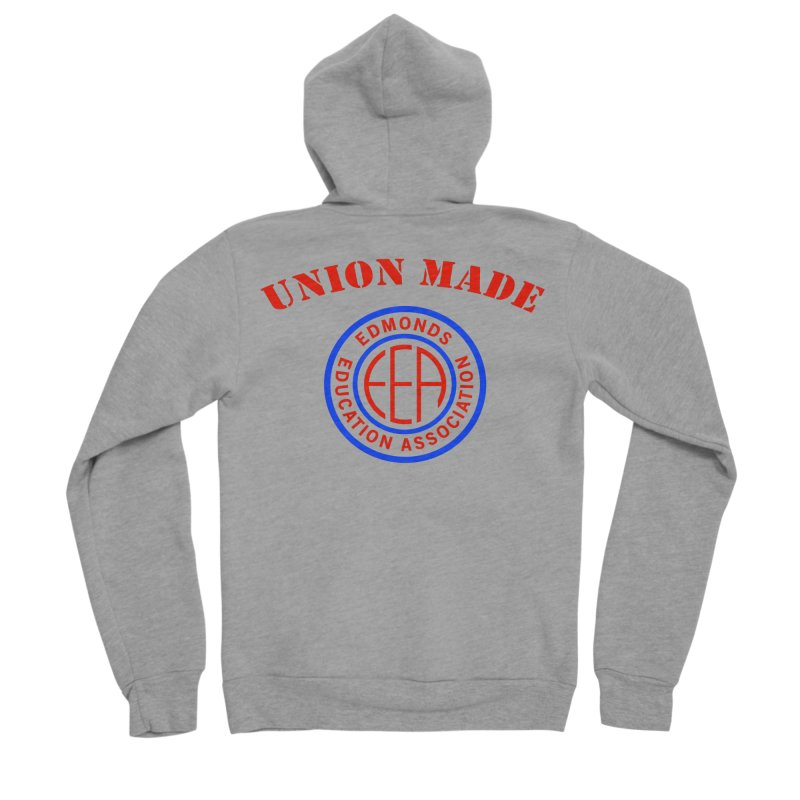 Edmonds EA Seal-Union Made Men's Sponge Fleece Zip-Up Hoody by Edmonds Education Association Swag Shop