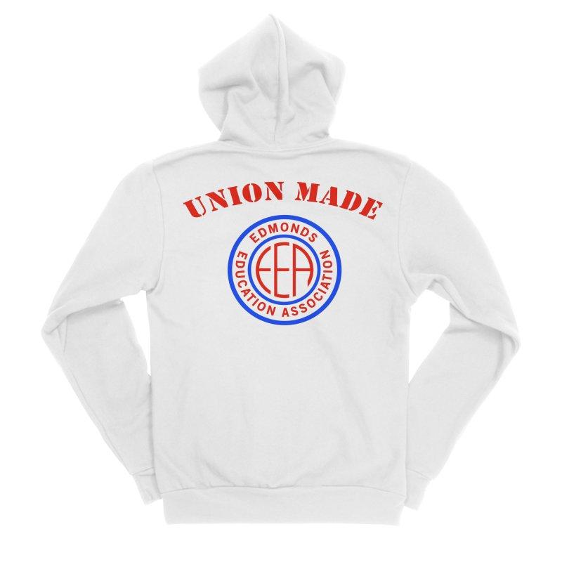 Edmonds EA Seal-Union Made Women's Sponge Fleece Zip-Up Hoody by Edmonds Education Association Swag Shop