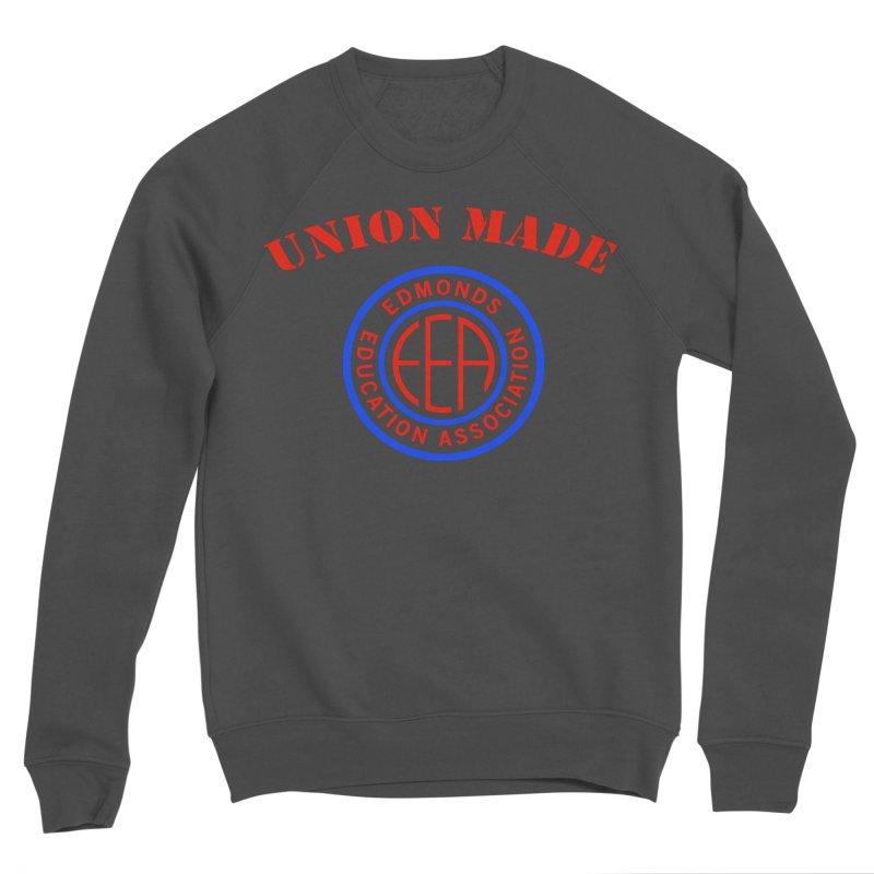 Edmonds EA Seal-Union Made Men's Sponge Fleece Sweatshirt by Edmonds Education Association Swag Shop