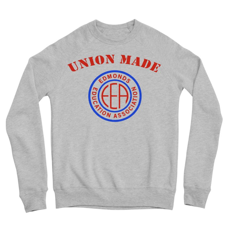 Edmonds EA Seal-Union Made Men's Sponge Fleece Sweatshirt by Edmonds Education Association Swag Shop