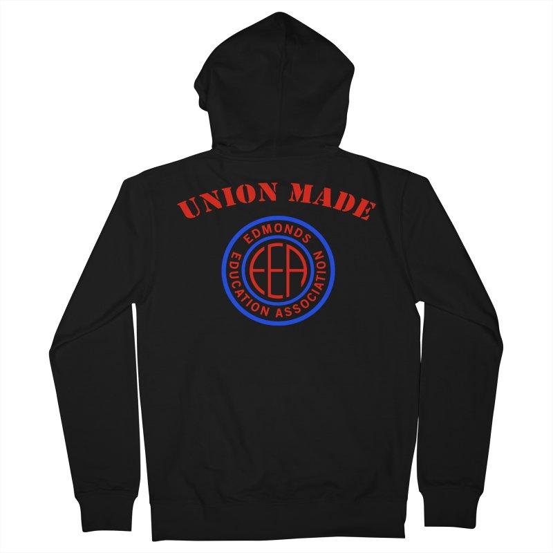 Edmonds EA Seal-Union Made Men's Zip-Up Hoody by Edmonds Education Association Swag Shop