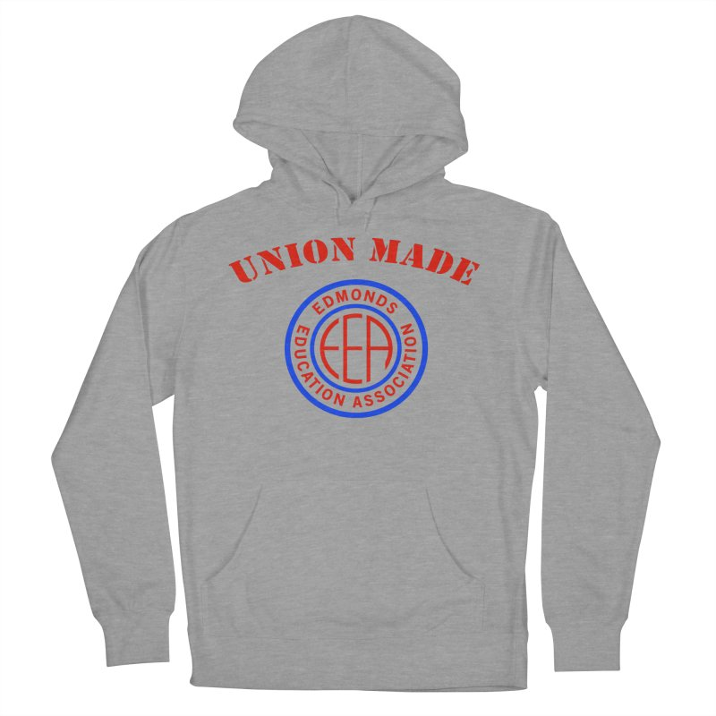 Edmonds EA Seal-Union Made Men's French Terry Pullover Hoody by Edmonds Education Association Swag Shop