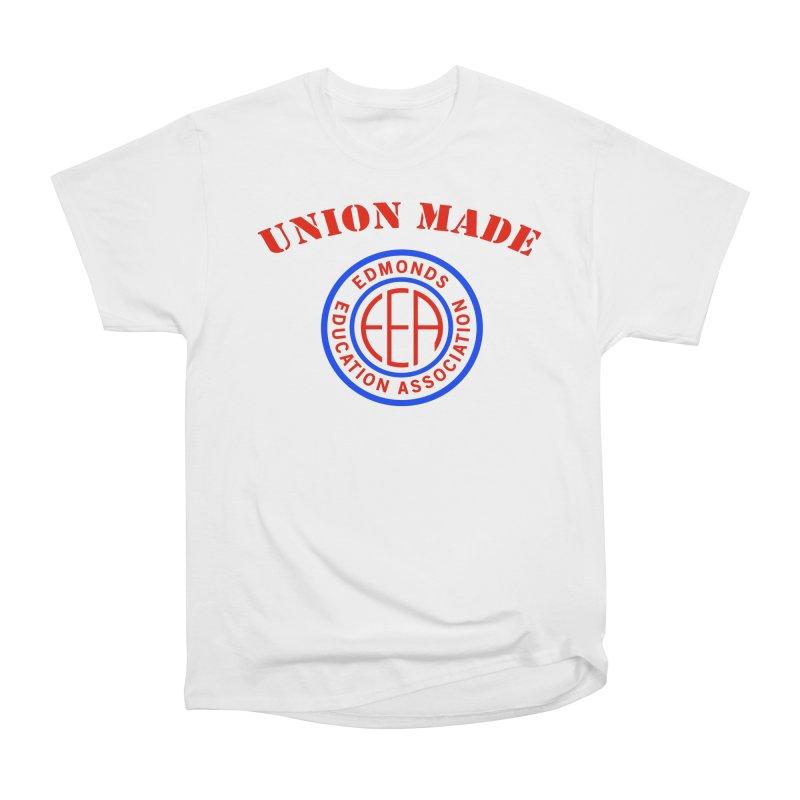 Edmonds EA Seal-Union Made Women's Heavyweight Unisex T-Shirt by Edmonds Education Association Swag Shop
