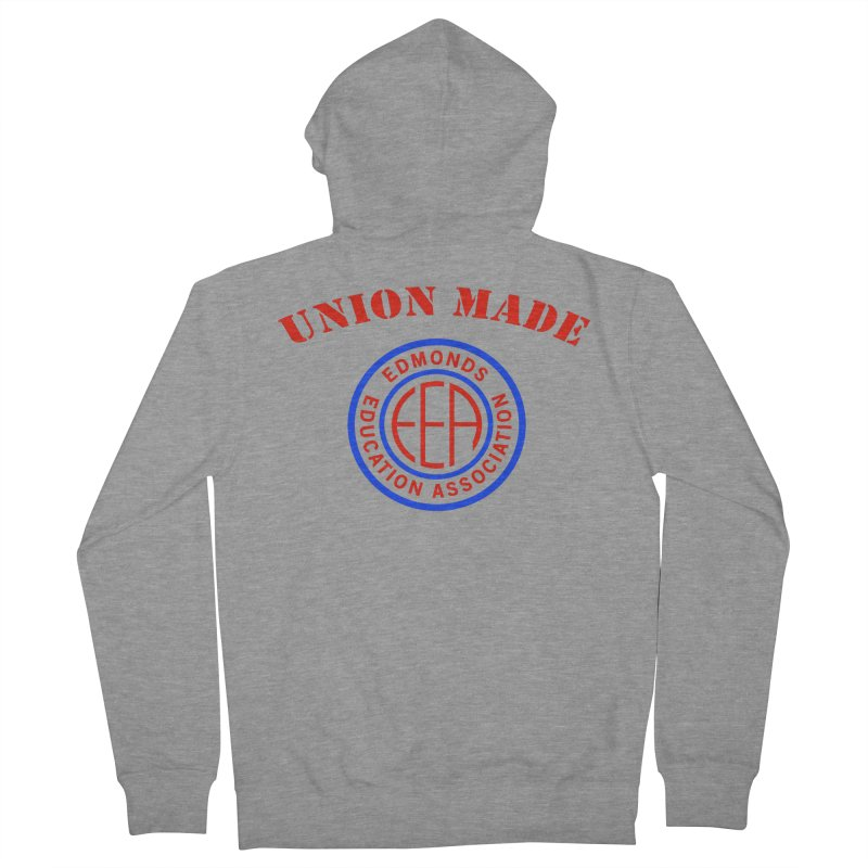 Edmonds EA Seal-Union Made Women's French Terry Zip-Up Hoody by Edmonds Education Association Swag Shop