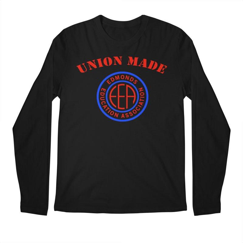 Edmonds EA Seal-Union Made Men's Regular Longsleeve T-Shirt by Edmonds Education Association Swag Shop