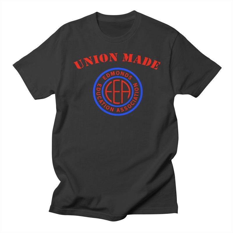 Edmonds EA Seal-Union Made Women's Regular Unisex T-Shirt by Edmonds Education Association Swag Shop