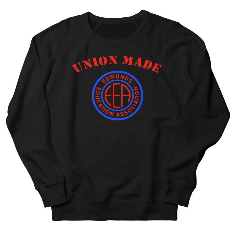 Edmonds EA Seal-Union Made Women's French Terry Sweatshirt by Edmonds Education Association Swag Shop
