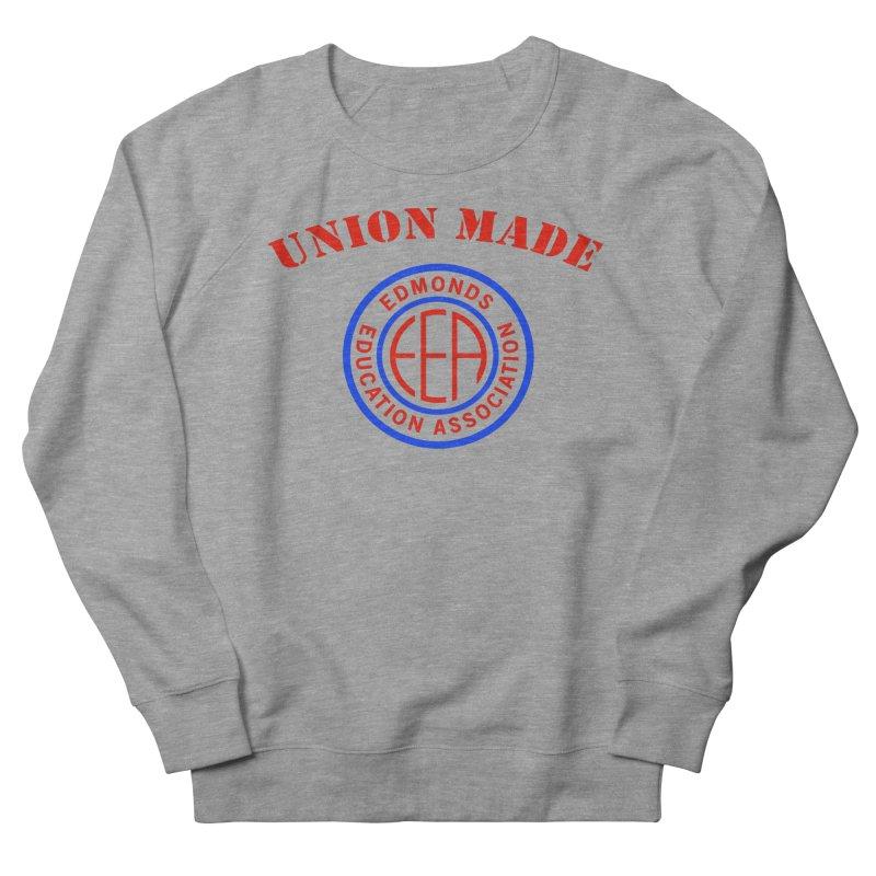 Edmonds EA Seal-Union Made Men's French Terry Sweatshirt by Edmonds Education Association Swag Shop