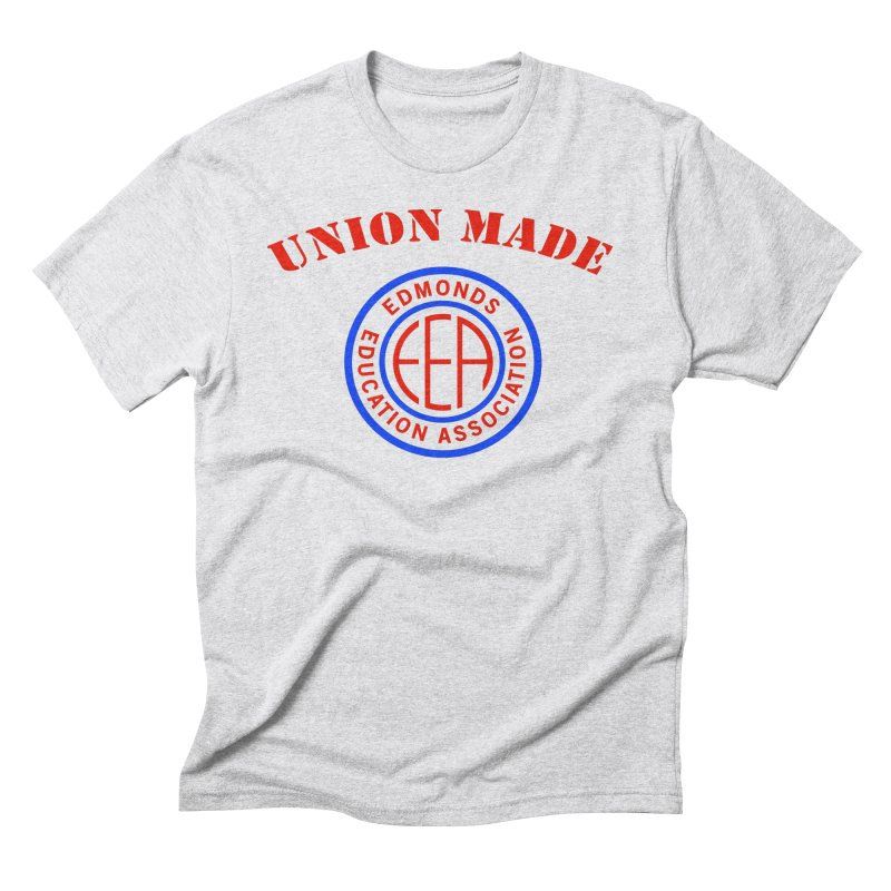 Edmonds EA Seal-Union Made Men's Triblend T-Shirt by Edmonds Education Association Swag Shop