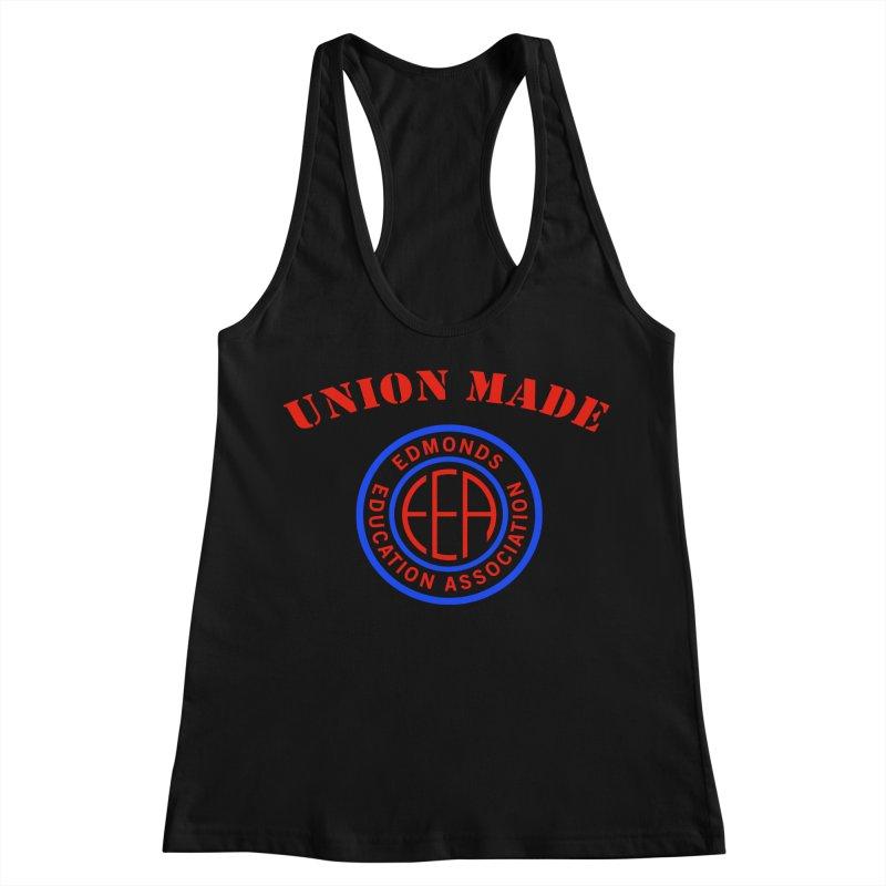 Edmonds EA Seal-Union Made Women's Racerback Tank by Edmonds Education Association Swag Shop