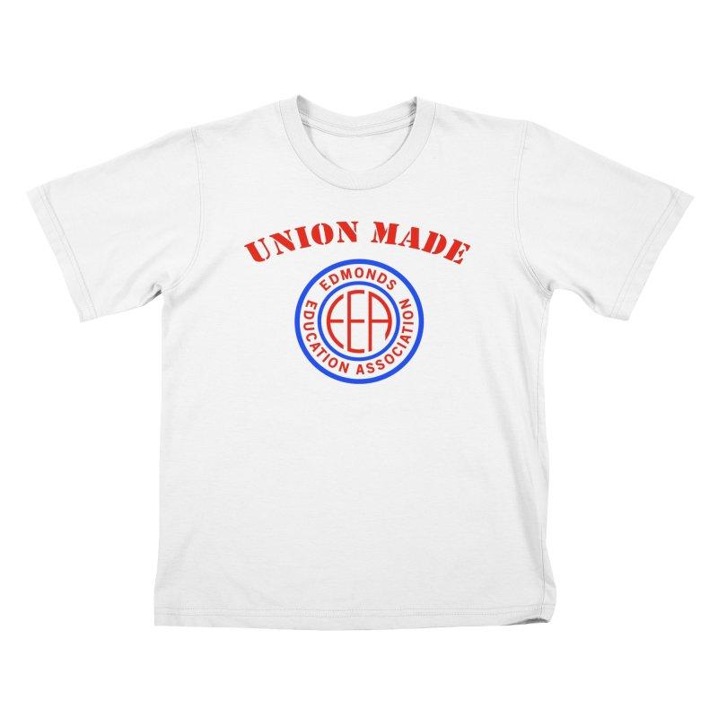 Edmonds EA Seal-Union Made Kids T-Shirt by Edmonds Education Association Swag Shop